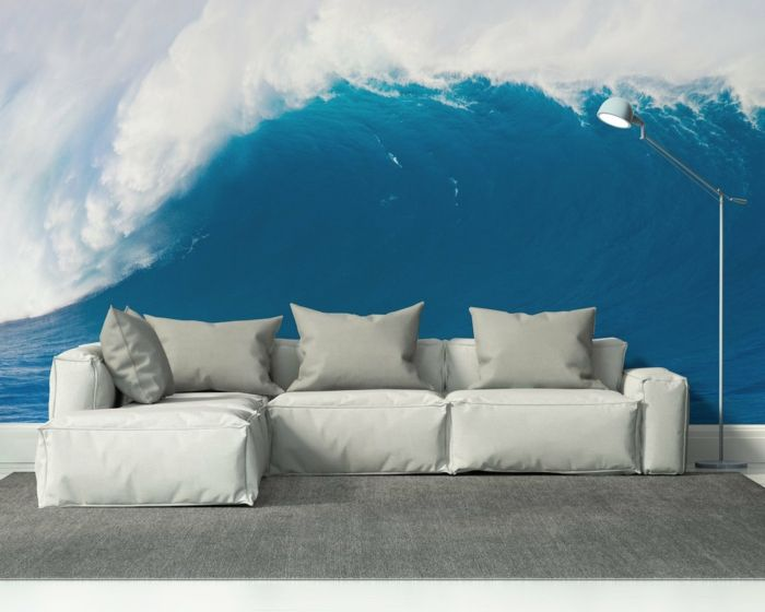 poster mural paysage interesting norvegiya nebo sanglant plus doma nature montagne rivire rock. Black Bedroom Furniture Sets. Home Design Ideas