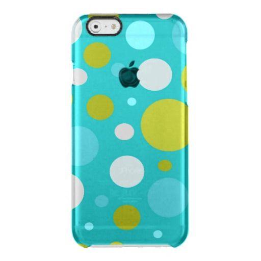 Polka dot pattern uncommon iPhone six case Uncommon Clearly™ Deflector iPhone 6 Case