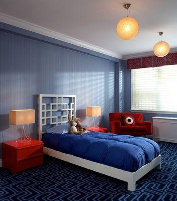 Boyu0027s Bedroom By Evelyn Benatar @ New York Interior Design