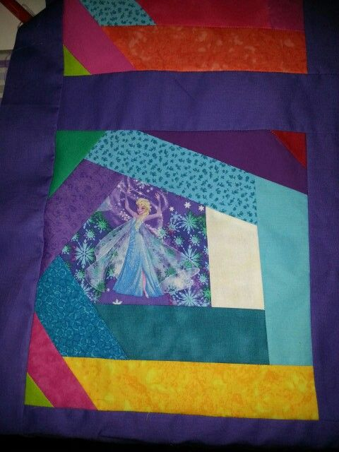 Another block from Wacky quilt