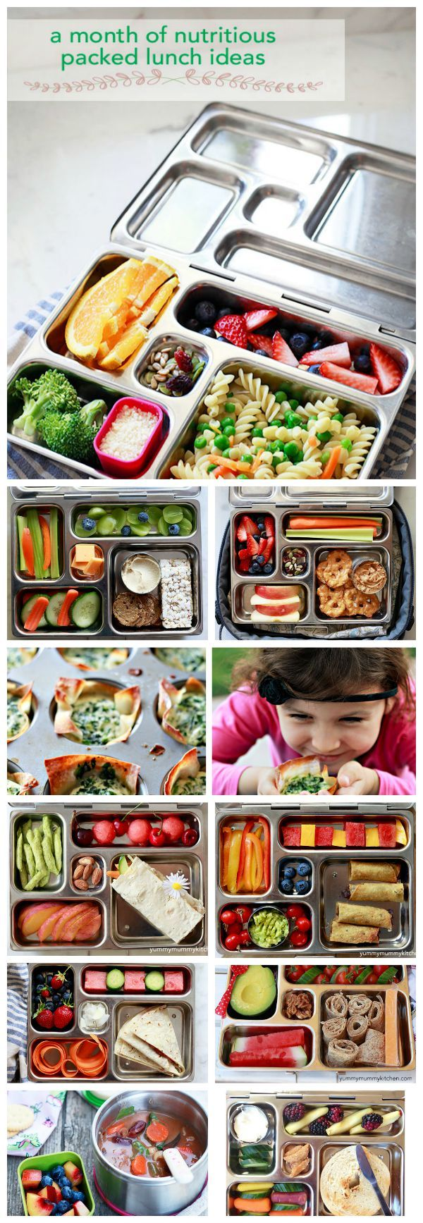 Healthy Lunchbox Ideas on YummyMummyKitchen.com