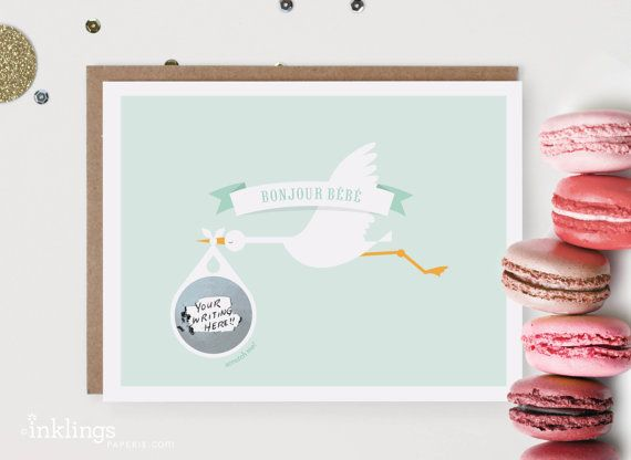 Scratch-off Pregnancy Announcement or Baby Gender Reveal // Mint Stork on Etsy, $5.89