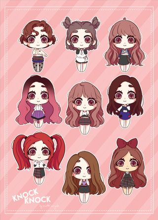 Twice stickers