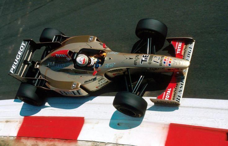 Martin Brundle, Jordan 196 - Peugeot A12 EV5 3.0 V10 (Italy 1996)