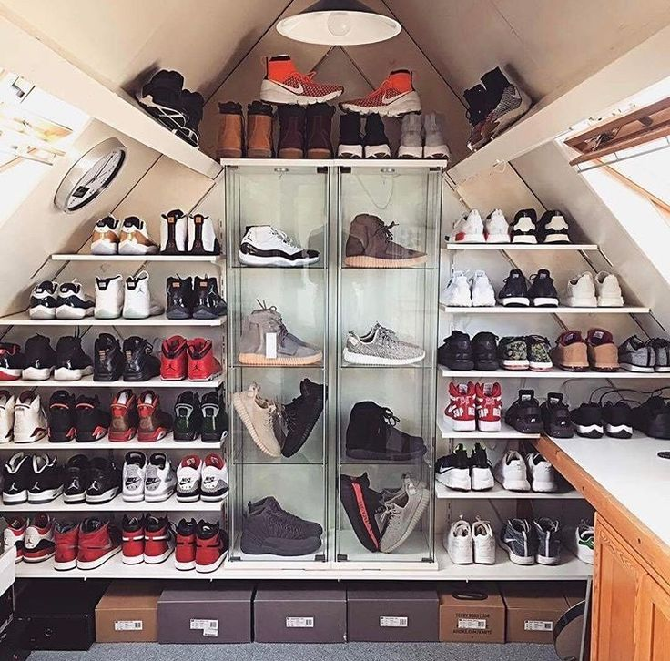 Art Ideas For Bedroom Bedroom Athletics Womens Slippers Bedroom Ideas In Green Bedroom With Wallpaper: 16 Best Sneakers Cabinet Images On Pinterest