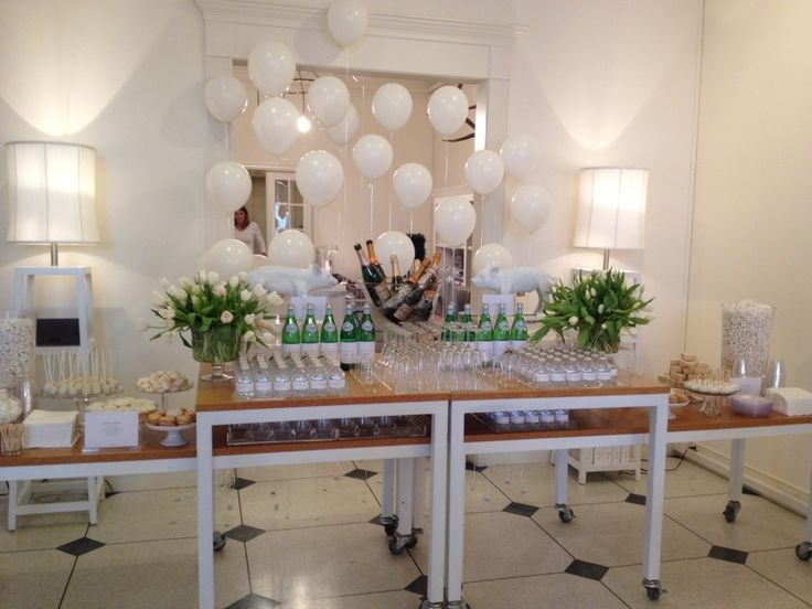 White launch party