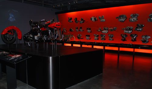 Engine Room @ the Harley Davidson Museum - Milwaukee, WI