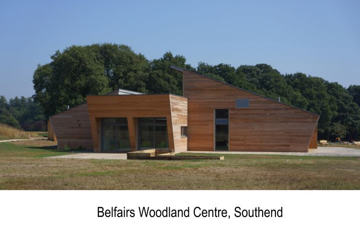 Belfairs Woodland Centre for  Southend Borough Council  and  Essex Wildlife Trust