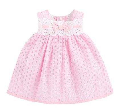 ENTRECOSTURILLAS: Como hacer ropa bebe vestido niñas (patrón gratis 3 a 24 meses)