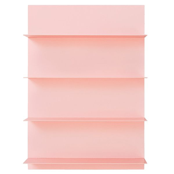 Design Letters Pink paper A2 shelf