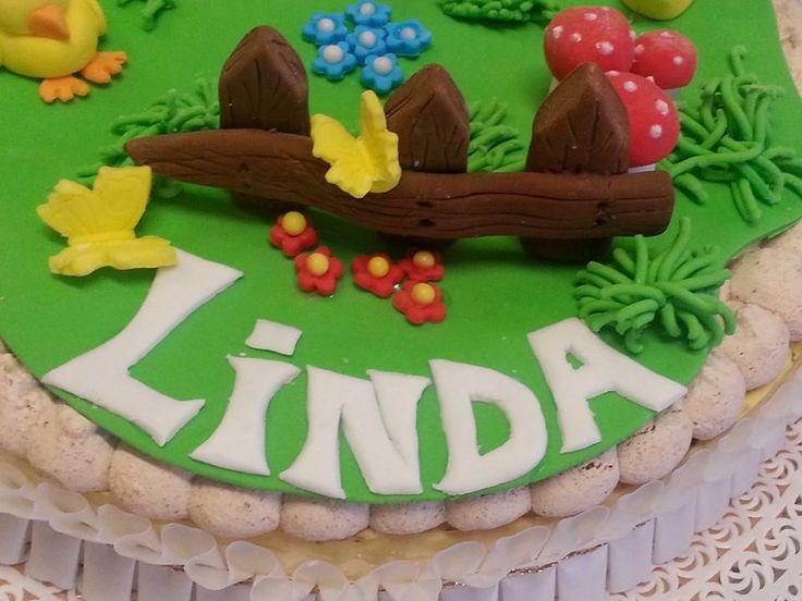Particolare della torta