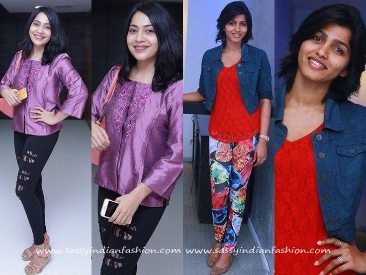 Anchor Ramya Dresses, Dhansika Dresses, Kollywood Celebrity Style