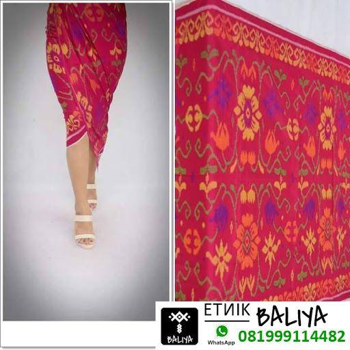 Kamen Endek Bali Terbaru Warna Merah | Whatsapp/Hp : 081999114482 (XL)