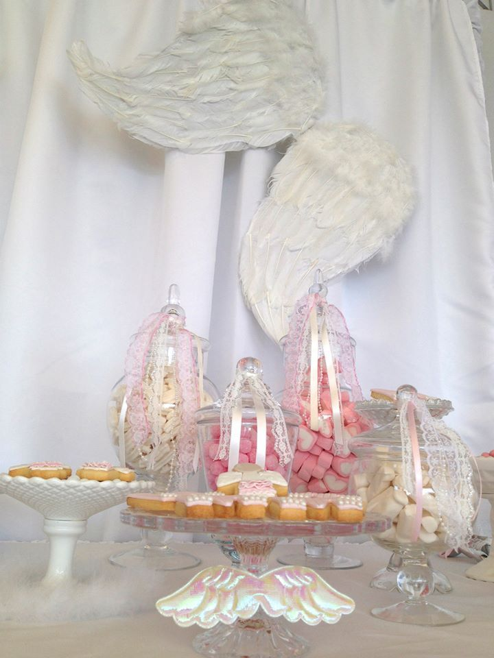 Little Wish Parties Angel Themed Christening And First