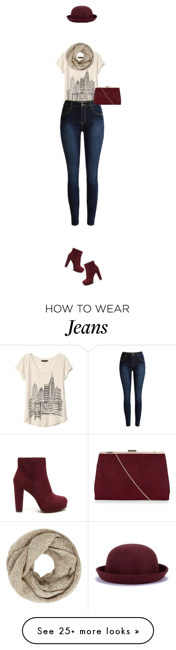 """""""Boots and Jeans"""" by artamisia on Polyvore featuring Banana Republic, John Lewis, New Look, Boots and jeans"""