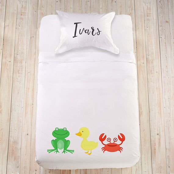 Baby animal bedding Baby blanket Custom bedding Cute bedding for child Animal design bedding Duvet cover for kid Colorful bedding Full duvet  Soft 100% organic cotton or 100% organic Egyptian cotton (sateen) bedding set is a great gift idea for a little animal lover on any occasion!