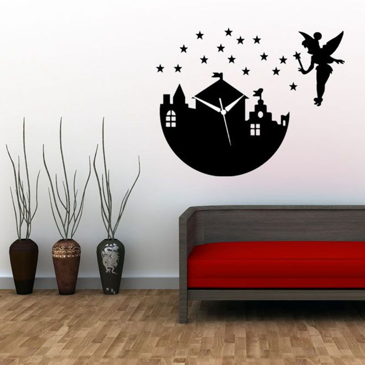 Las 25 mejores ideas sobre reloj pared adhesivo en - Reloj pared adhesivo ...