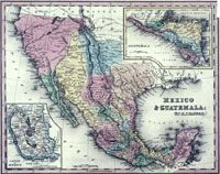 1834. Henry Schenck Tanner. Mexico & Guatemala. / The image is the property of the University of Arizona and may not be included in any commercial publications (printed or online) without the written permission of the University of Arizona Library, and are provided here for educational purposes only.