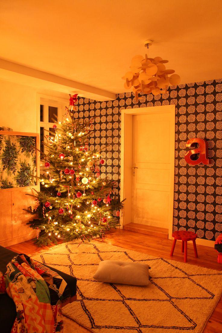 Uns Gefällt Die Gemütliche Weihnachtsstimmung Und Die Farben Im Wohnzimmer  Von Www.myhomeismyhorst.de