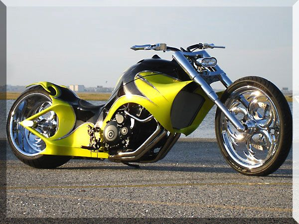 Motorcycles - Custom Street Chopper.