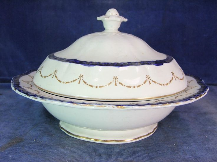 Vintage Booths China Table Serving Tureen c.1900  6439