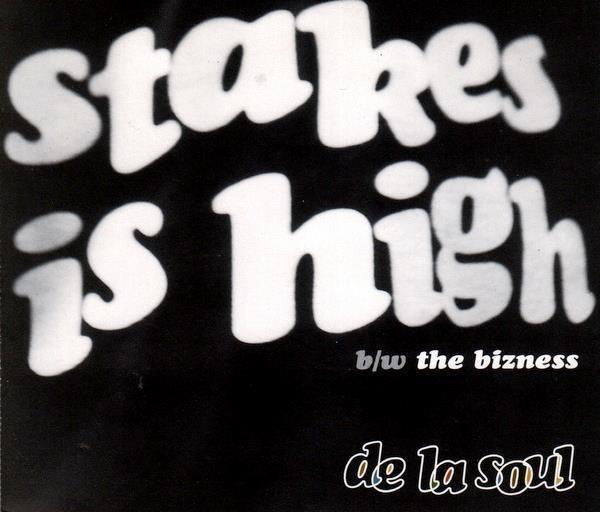 De La Soul - Stakes Is High (4 trk CD / 1996)