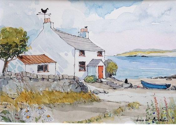 1407 Best Barn Cottage Art Images On Pinterest