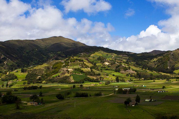 Boyaca, Landscape