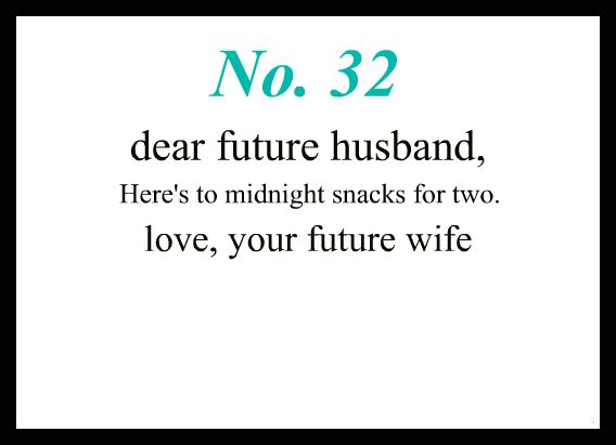 Writing Your Husband Love Letters.