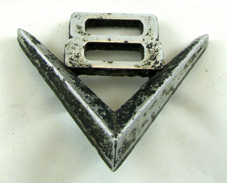 V8 Car Emblem Symbol Vintage Finds Car Lettering V8