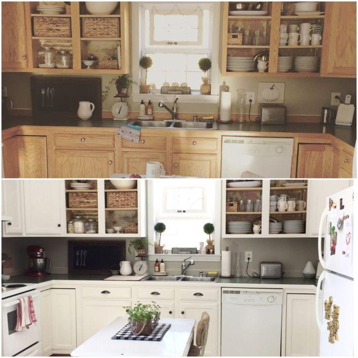 White Kitchen Makeovers 1584 best kitchens images on pinterest | kitchen ideas, farmhouse