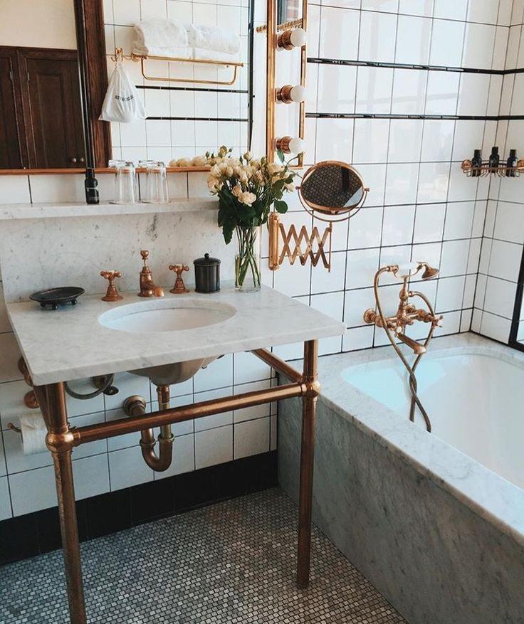 Brass in the bath!