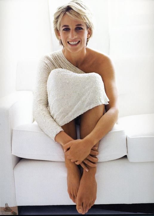 Princess Diana, loved this free, open side of her