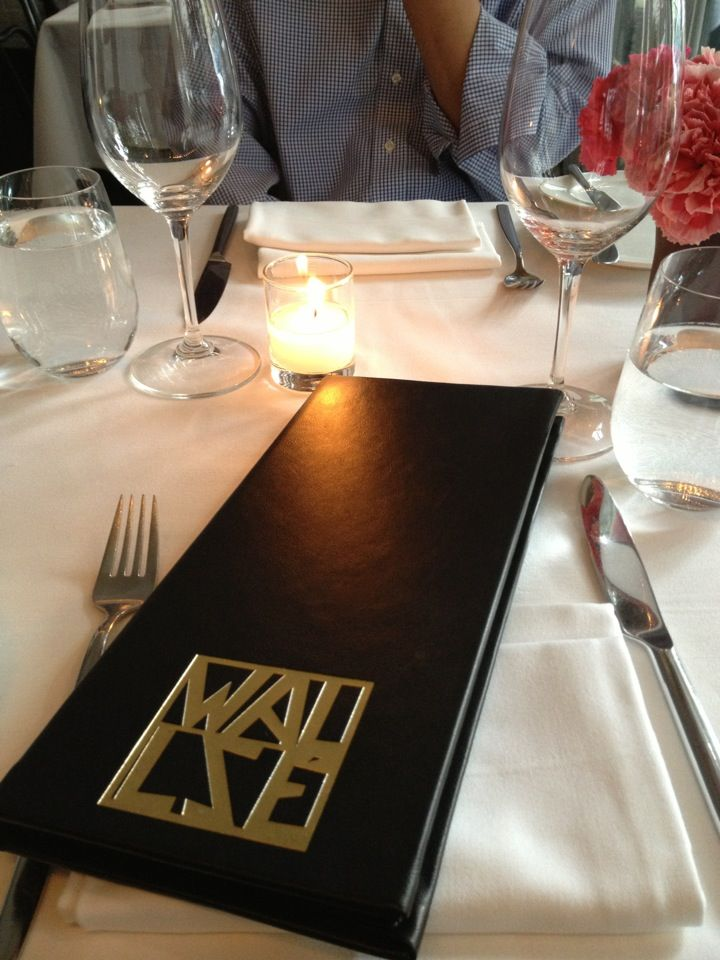 Wallsé, great Austrian food and wine