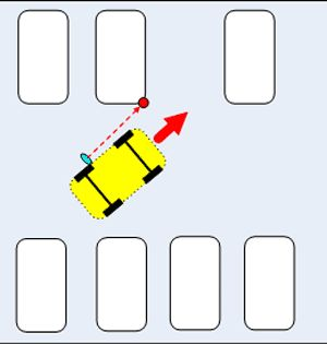 Парковка задним ходом между автомобилями • Образовательный проект «Правильный водитель»