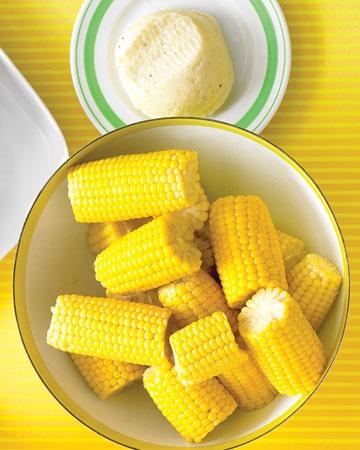 corn!: Corn Recipes, Pasta Salad, Yum, Cob, Summer Corn, Veggies, Cheesy Butter, Sides