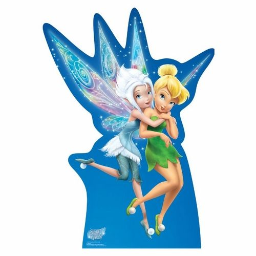 Secret Of The Wings-Periwinkle & Tinkerbell Standup $34.95