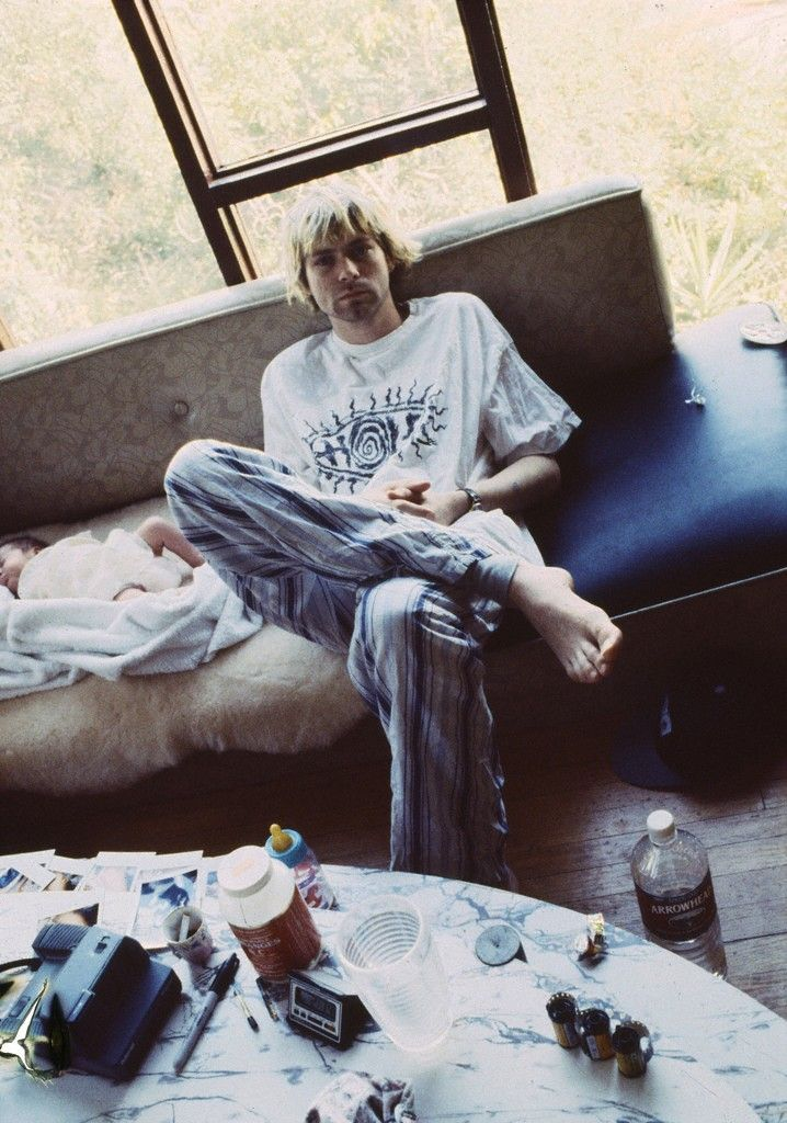 Kurt Cobain by Hansen Guzman, 1992. Kurt Donald Cobain 1967-1994 Nirvana Rock Band