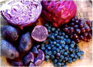 purple fruit and vegetables - Bing Images