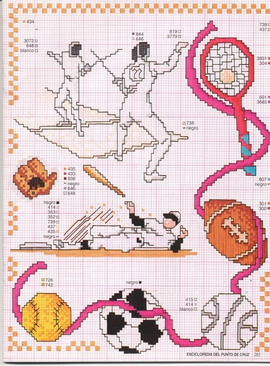 Kreuzstich sticken cross stitch - free pattern Gallery.ru / Foto # 28 - Enciclopèdia ITALIANA 2 - KIM-2