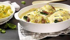 Viktoriabarsch im Serrano-Spinat-Mantel - ein feines MAGGI Rezept aus der Kategorie Eier & Milchprodukte. MAGGI Kochtipps für ein gutes Gelingen.