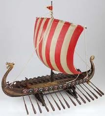 how to make a viking ship with paper