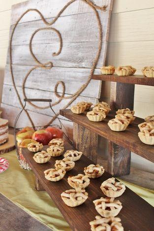 Mini Apple Pie; Birthday Party; Country Fair; Dessert; country fair party ideas; country fair party