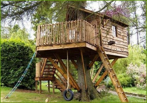 Treehouse For Kids Take It Outside Pinterest