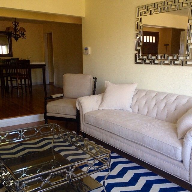 rialenalb showcased our abigail coffee table olivia sofa and santorini mirror in her spring. Black Bedroom Furniture Sets. Home Design Ideas