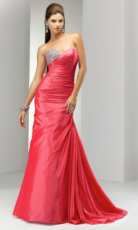 Magníficos Vestidos de Fiesta Largos | Moda y Tendencias Gown, attire,party dress