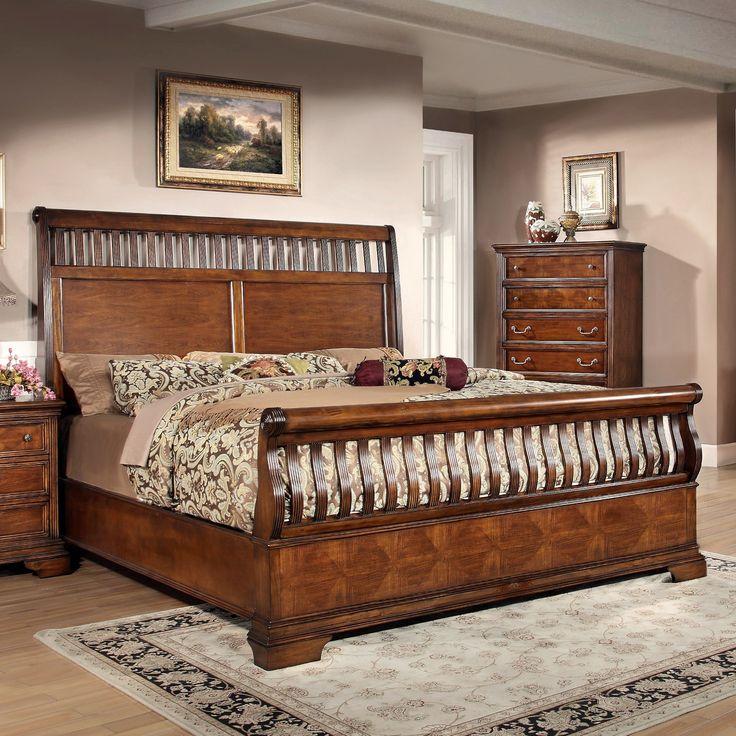 Gloucester Upholstered Standard Bed Furniture, Home
