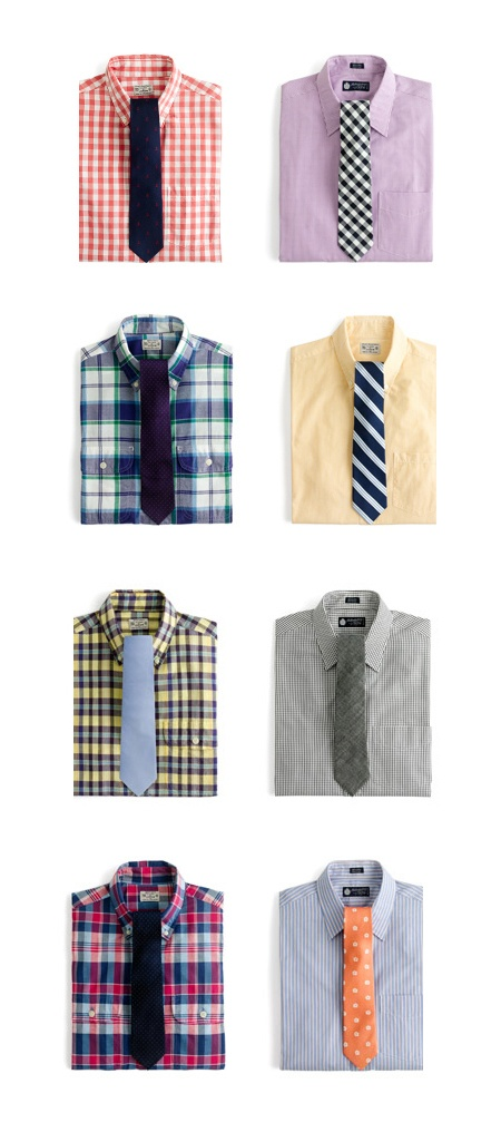 J.Crew shirts and ties