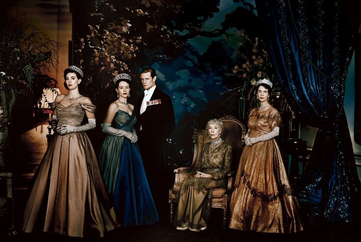 New pics of Claire Foy and the cast of the The Crown, coming to Netflix in November. Costume design by Michele Clapton. (via)
