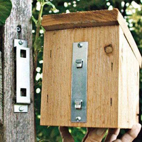 a9d4e16024dbdb43c61b6ca442c7f7f6 House Hanger Bracket #birdhouses